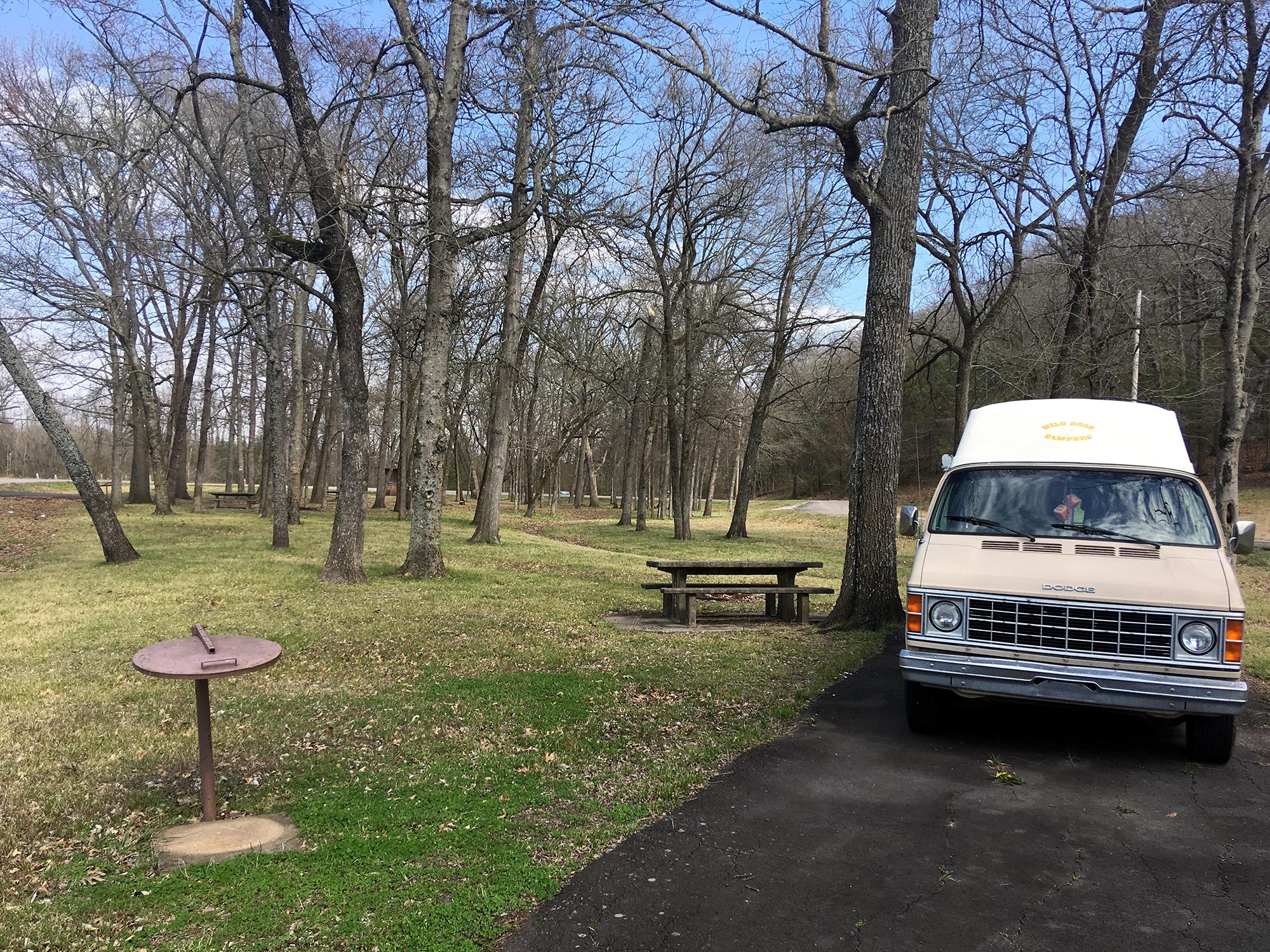 Generic Van Life - Arkansas Cedar Creek