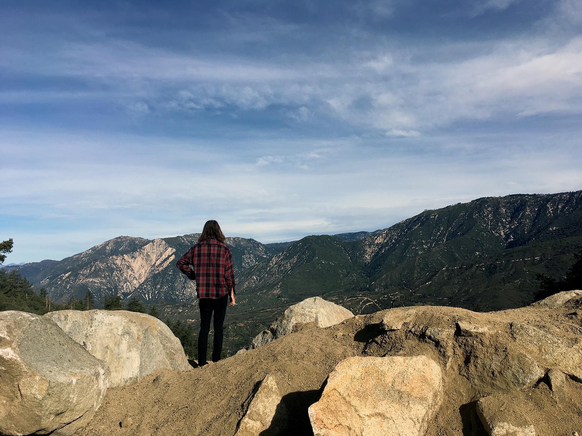 Generic Van Life - Southern California San Bernardino Lookout