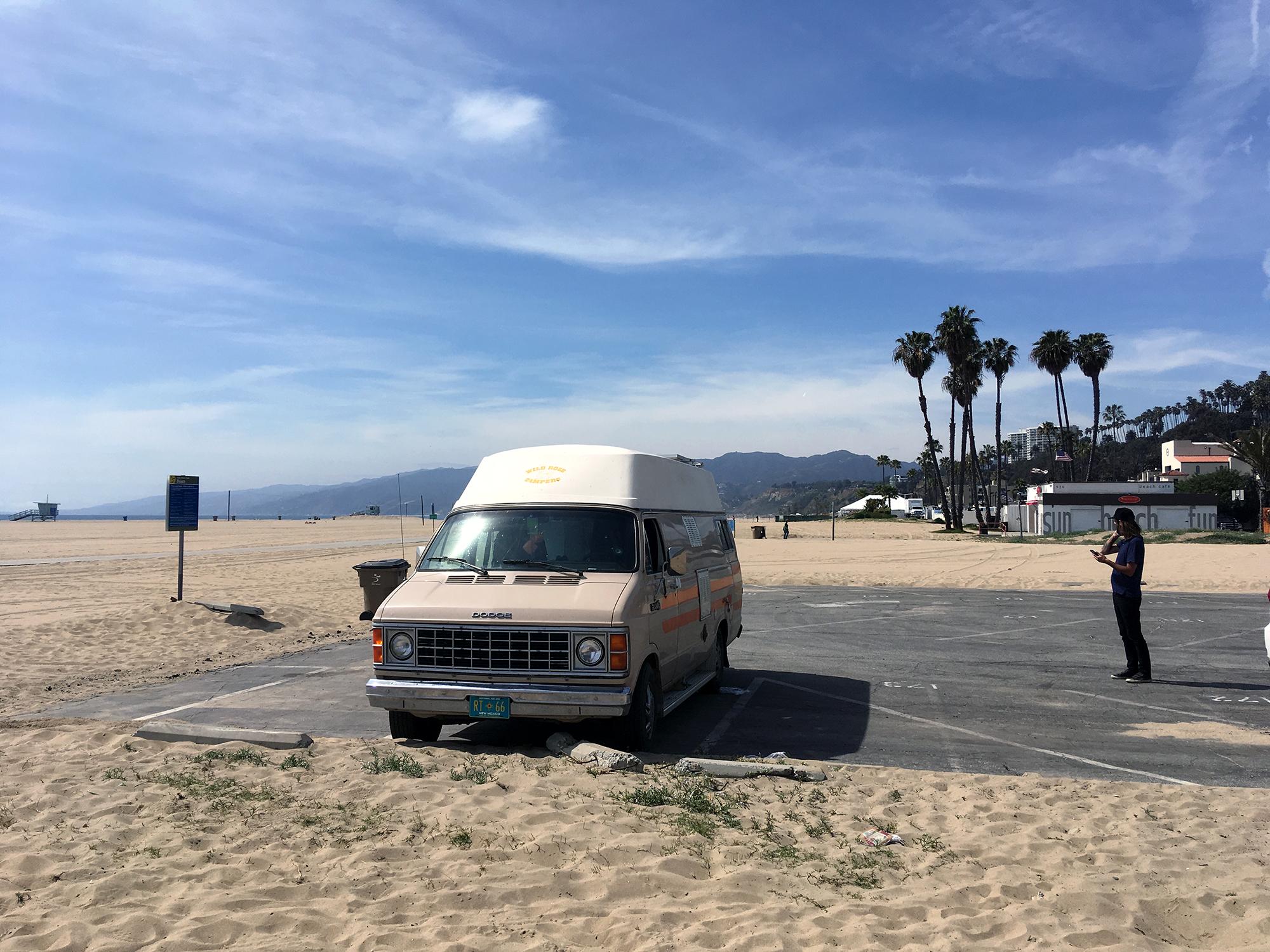 Generic Van Life - Southern California Santa Monica