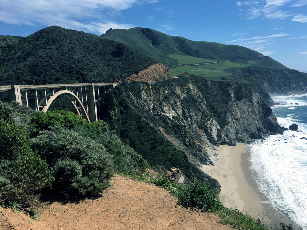 Generic Van Life - Central California Bixby Bridge