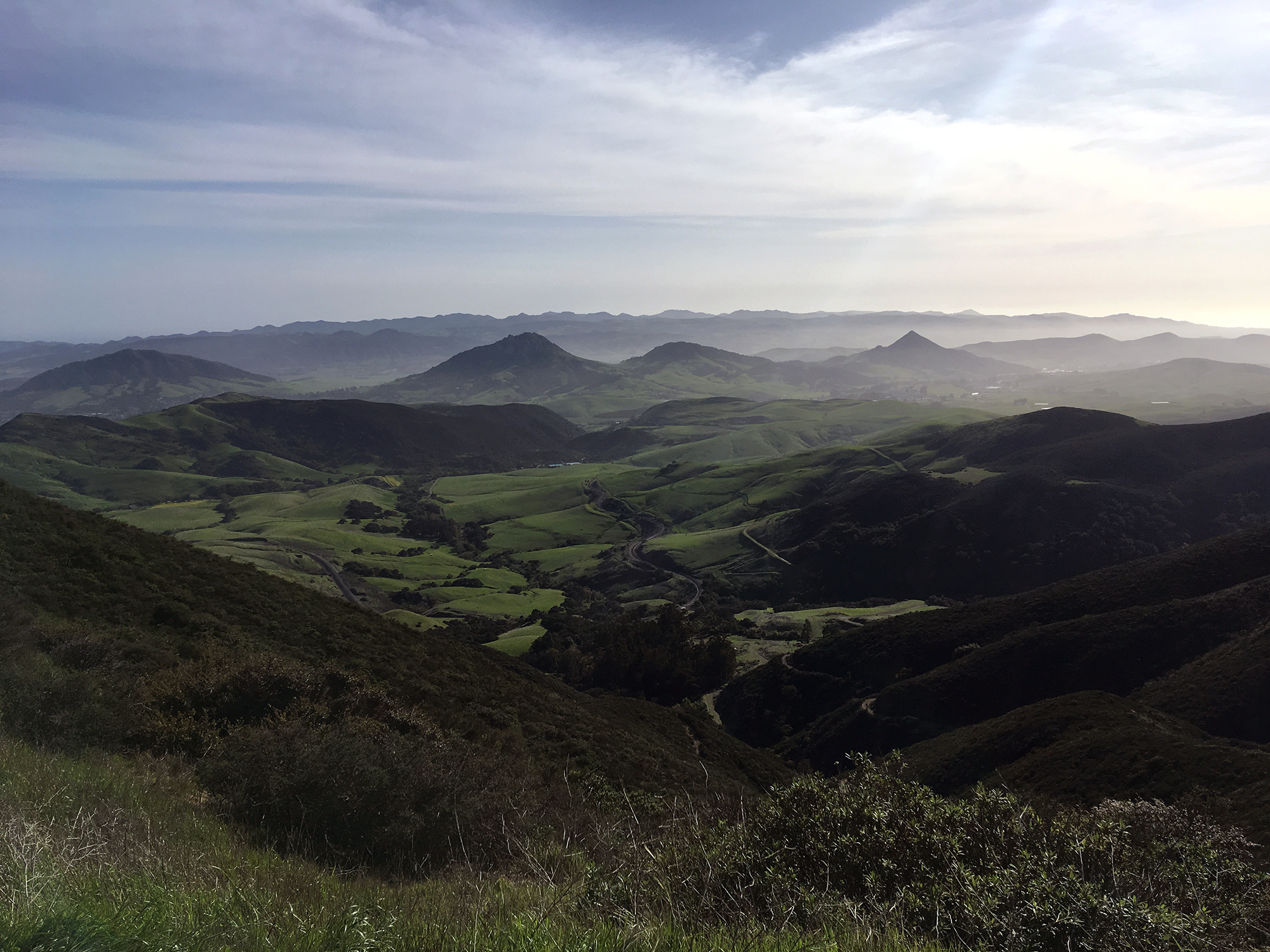 Generic Van Life - Central California San Luis Obispo View
