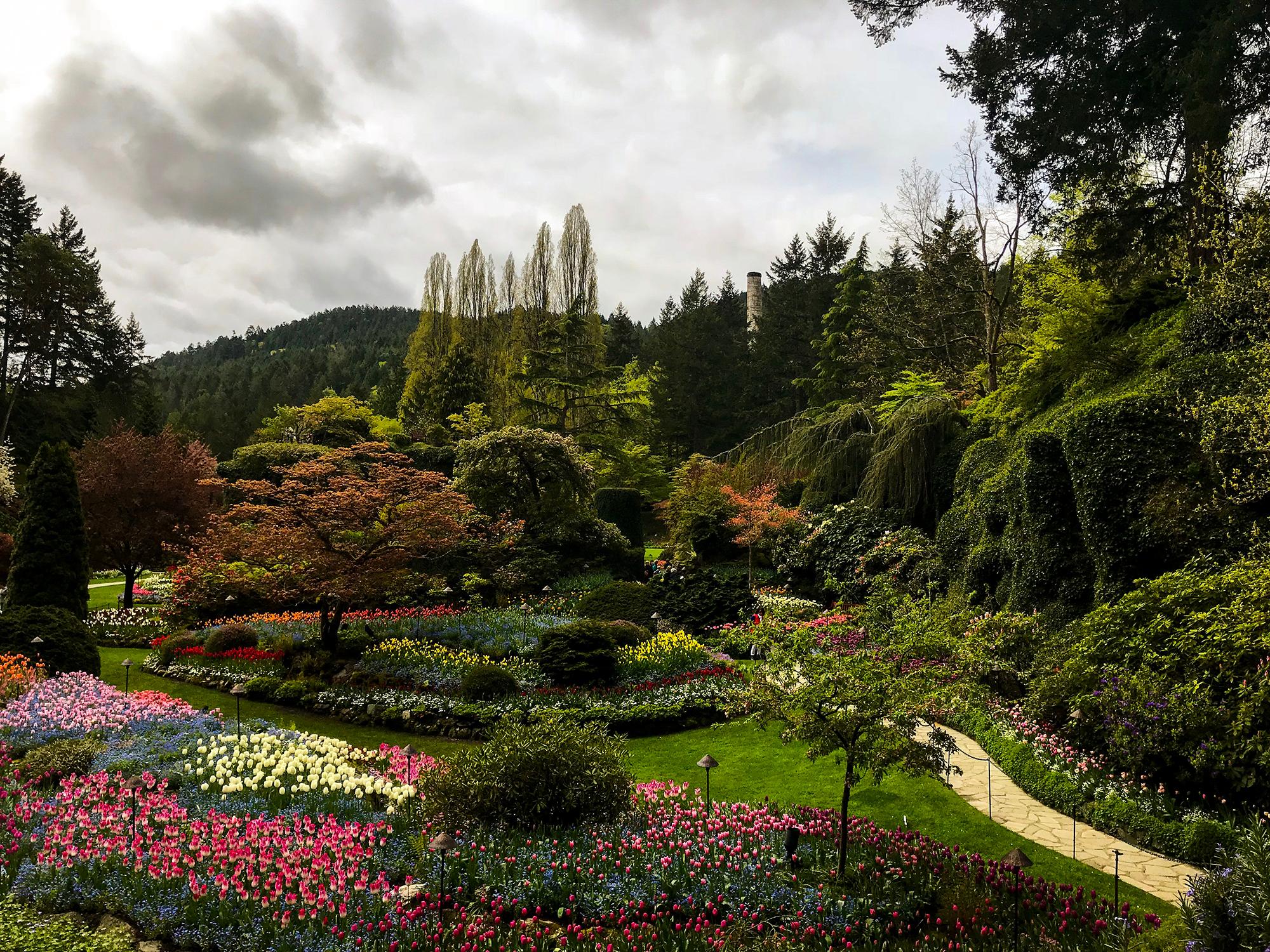 Generic Van Life - Vancouver Island Butchart Gardens