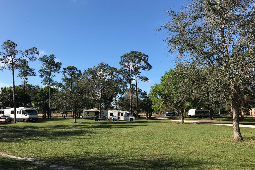 Generic-Van-Life-Camping-DuPuis WMA-Florida-United-States-other campers