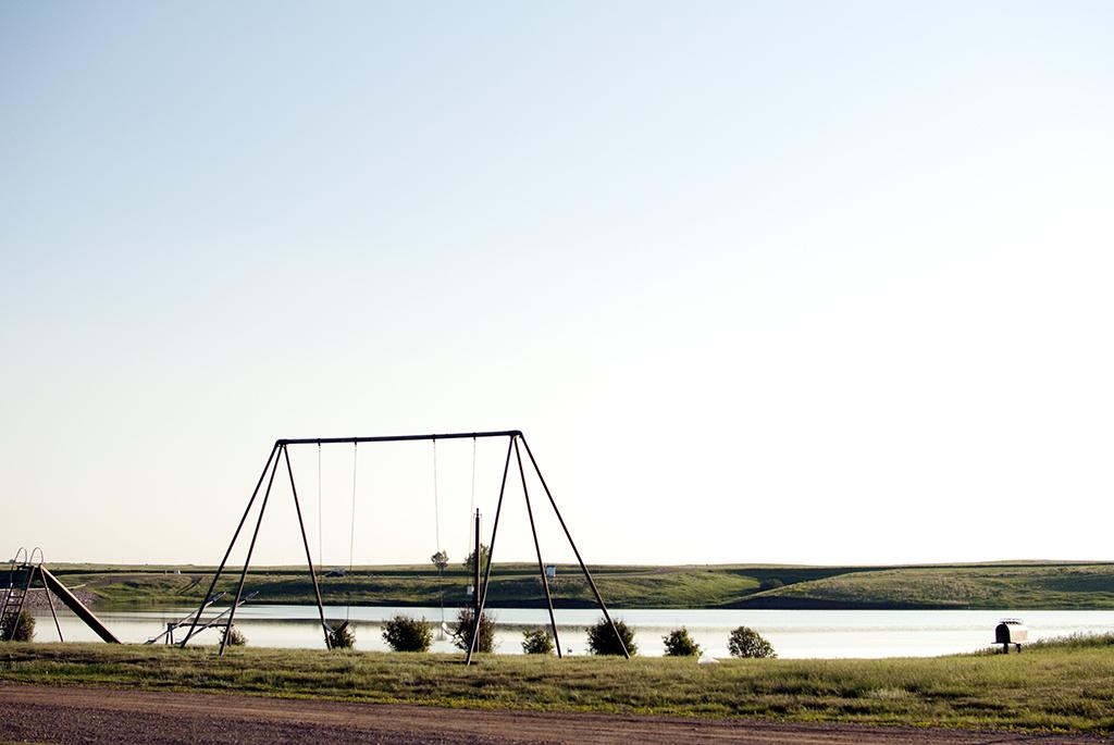 Generic-Van-Life-Camping-Spot-Carolside-Campground-Alberta-lake
