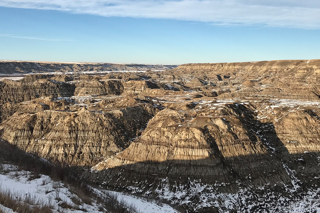 Generic Van Life – Camping Spot – Horsethief Canyon Alberta Canada – Canyon View