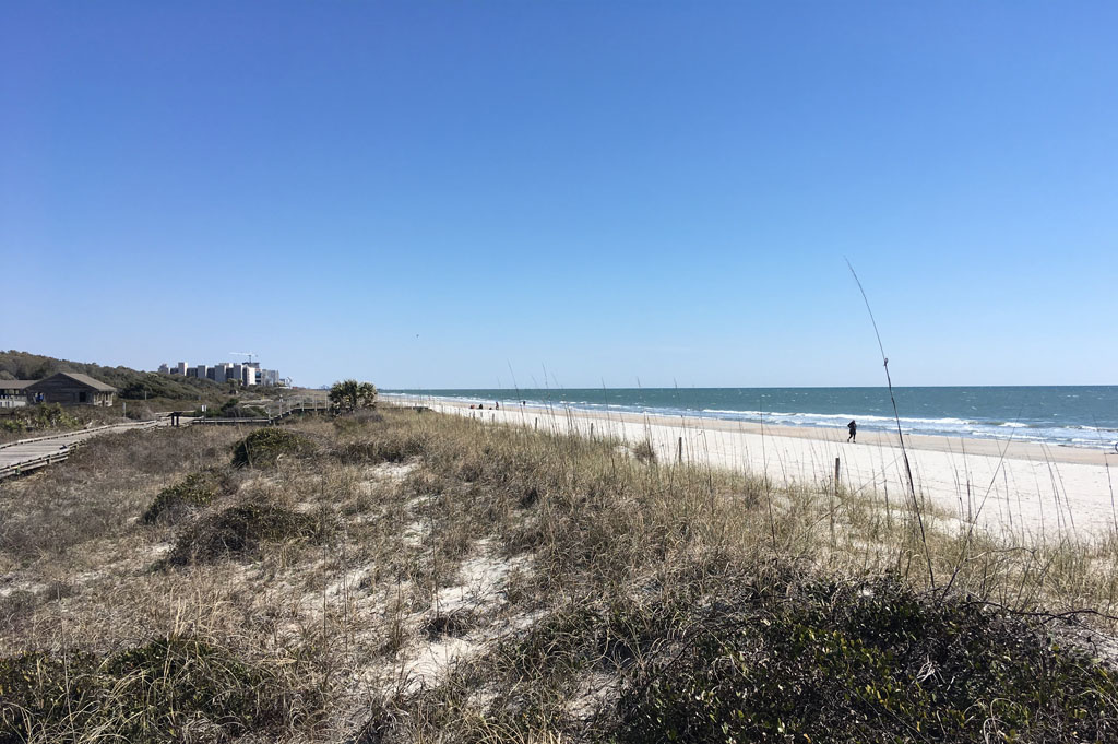 Generic-Van-Life-Camping-Spot-Myrtle Beach-South Carolina-United-States-another beach view