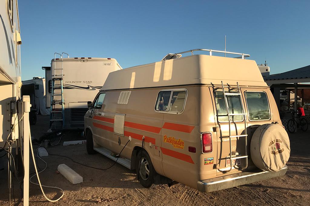 Generic Van Life – Camping Spot – Playa Bonita Puerto Peñasco Sonora Mexico – Rv Park