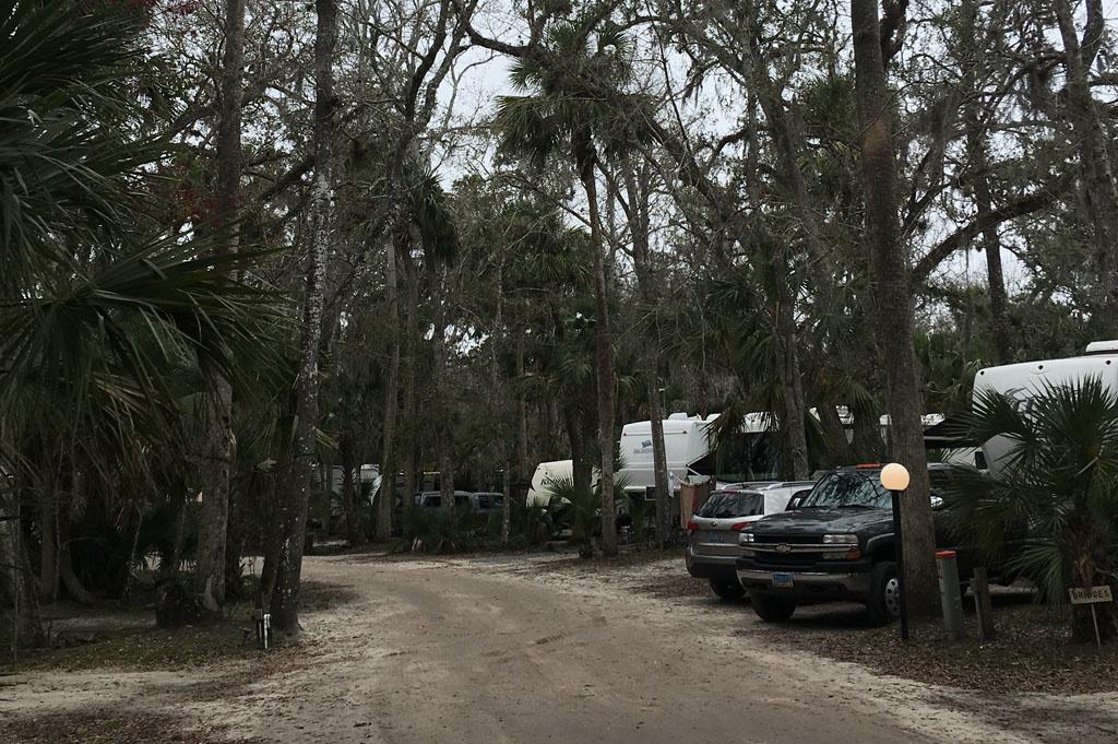 Generic-Van-Life-Camping-Sugar Mill Ruins-Florida-United-States-road view