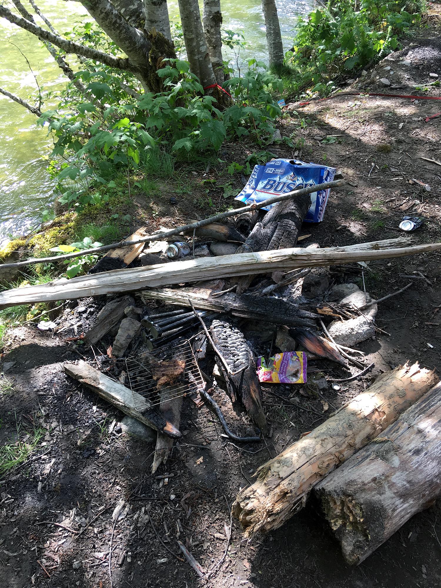 Generic Van Life - Vancouver Skagit River Trash