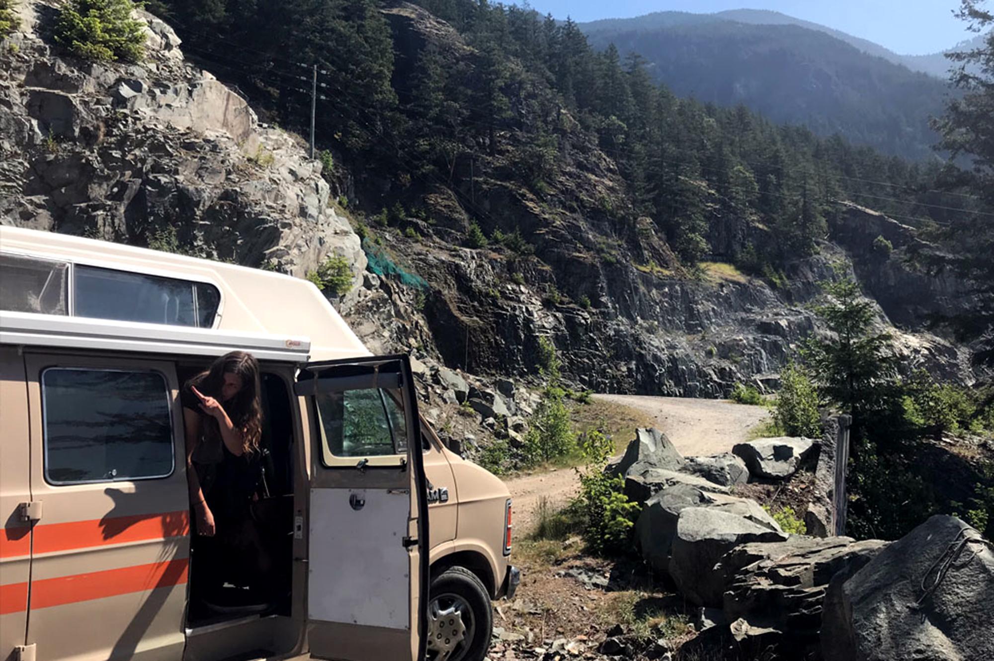 Generic Van Life - Vancouver Squamish Hwy 99