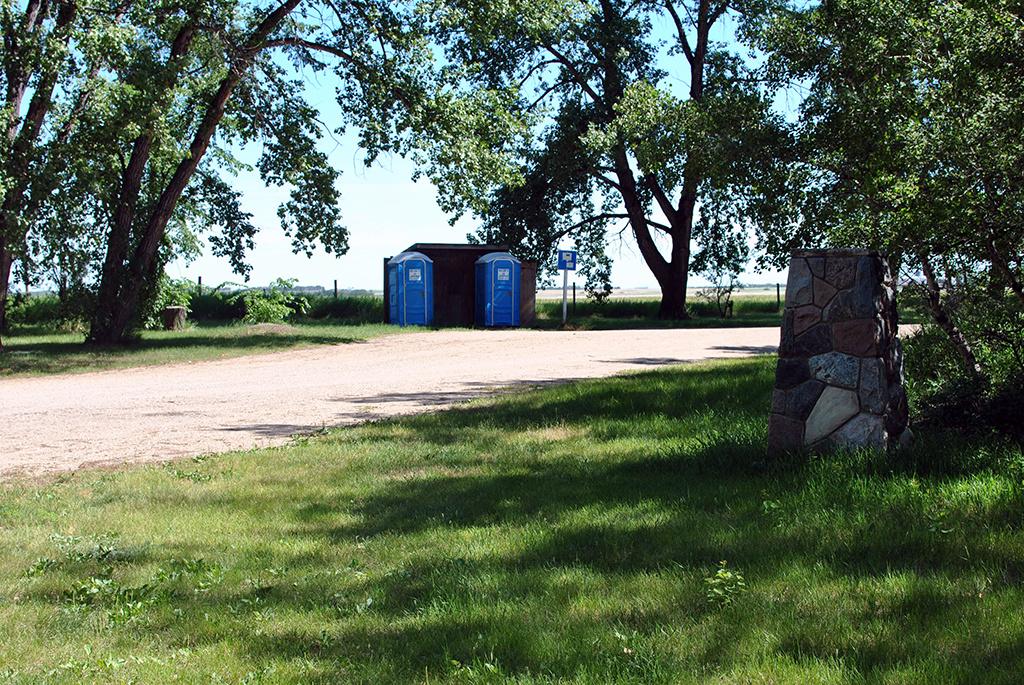 Generic-Van-Life-Camping-Spot-Elstow-Rest-Area-Saskatchewan-Outhouse