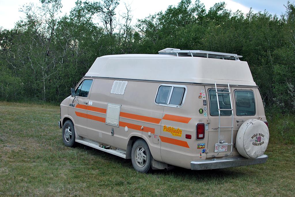 Generic-Van-Life-Camping-Spot-Harris-Rest-Area-Saskatchewan-Van