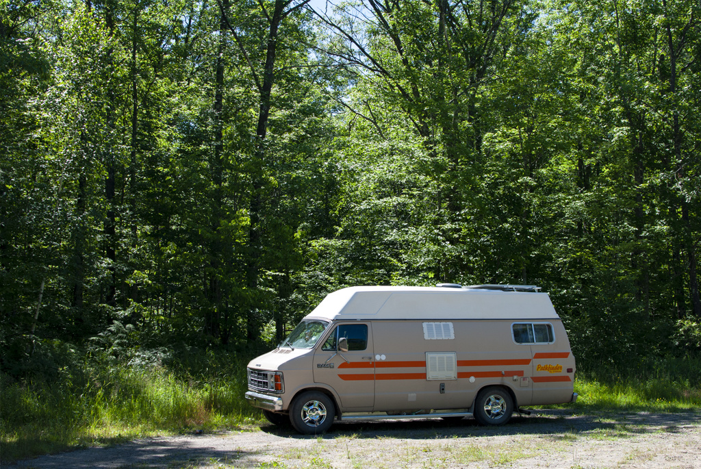 Generic-Van-Life-Camping-Spot-Rum-River-Minnesota-Spot-1024×685