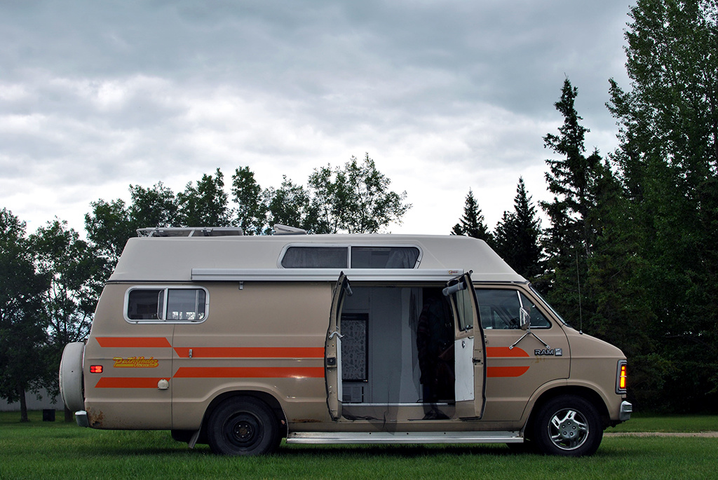 Generic-Van-Life-Camping-Spot-Russell-Peace-Park-Manitoba-Van