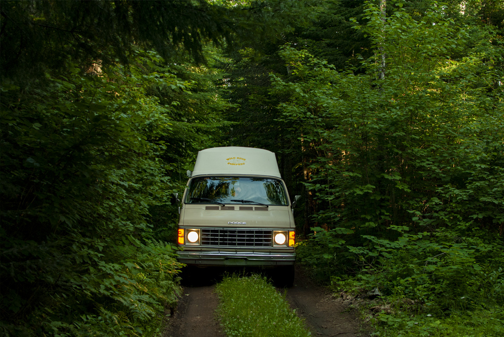 Generic Van Life - Minnesota Superior National Forest