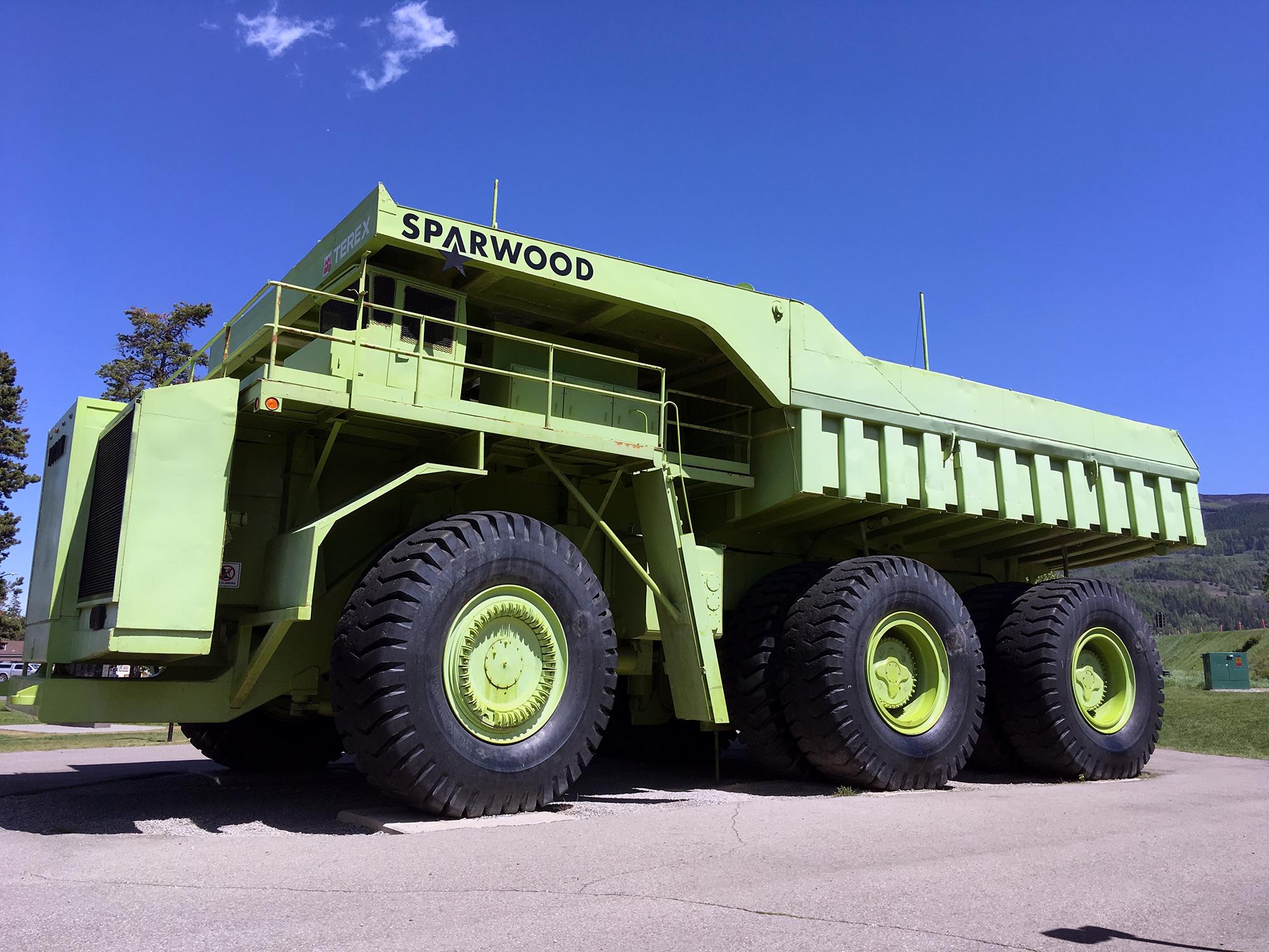 Generic Van Life - Crowsnest Highway Sparwood Truck