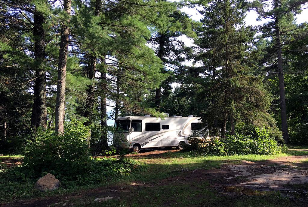 Generic-Van-Life-Camping-Spot-Cashel-Lake-Ontario-RV