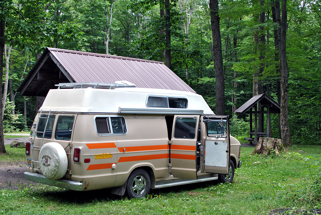 Generic-Van-Life-Camping-Spot-North-Harmony-State-Forest-New-York-Van