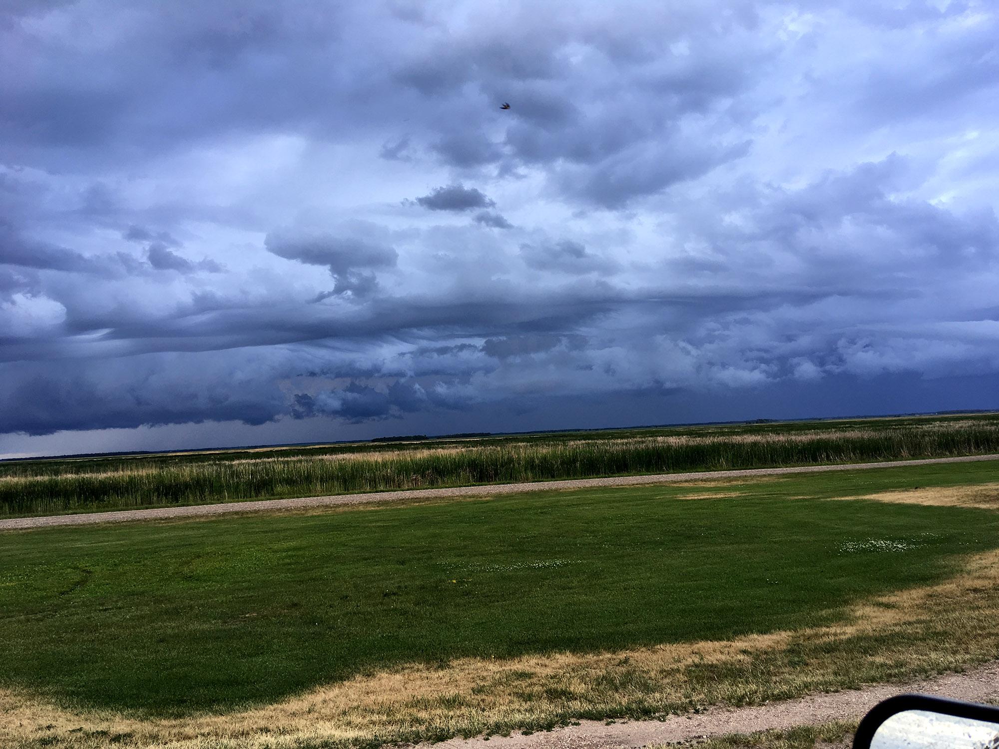 Generic Van Life - Friendly Manitoba Clouds