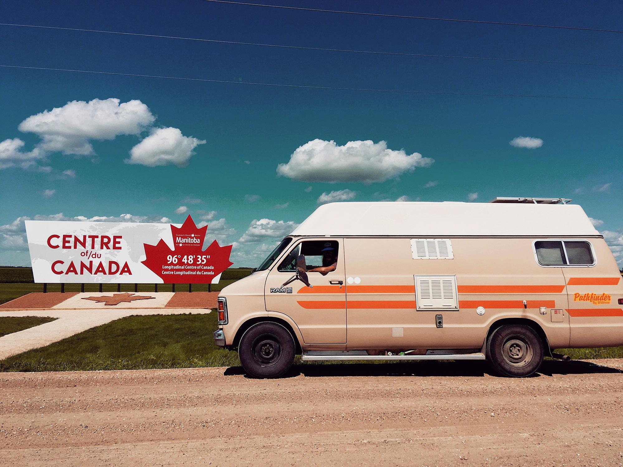 Generic Van Life - Friendly Manitoba Longitudinal Centre of Canada
