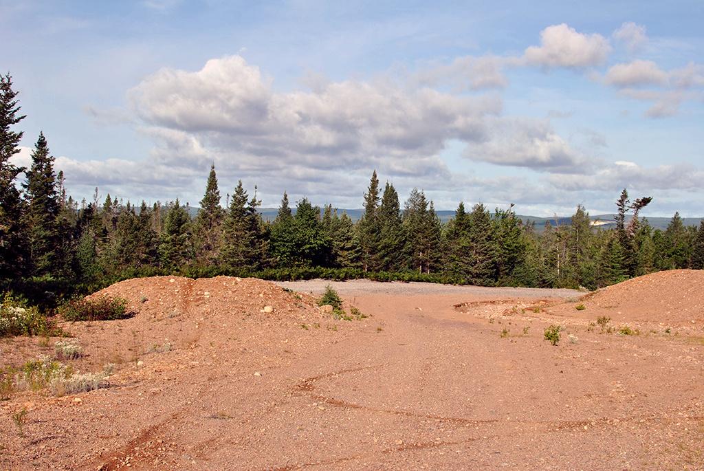 Generic-Van-Life-Deer-Lake-Quarry-Newfoundland-Clearing