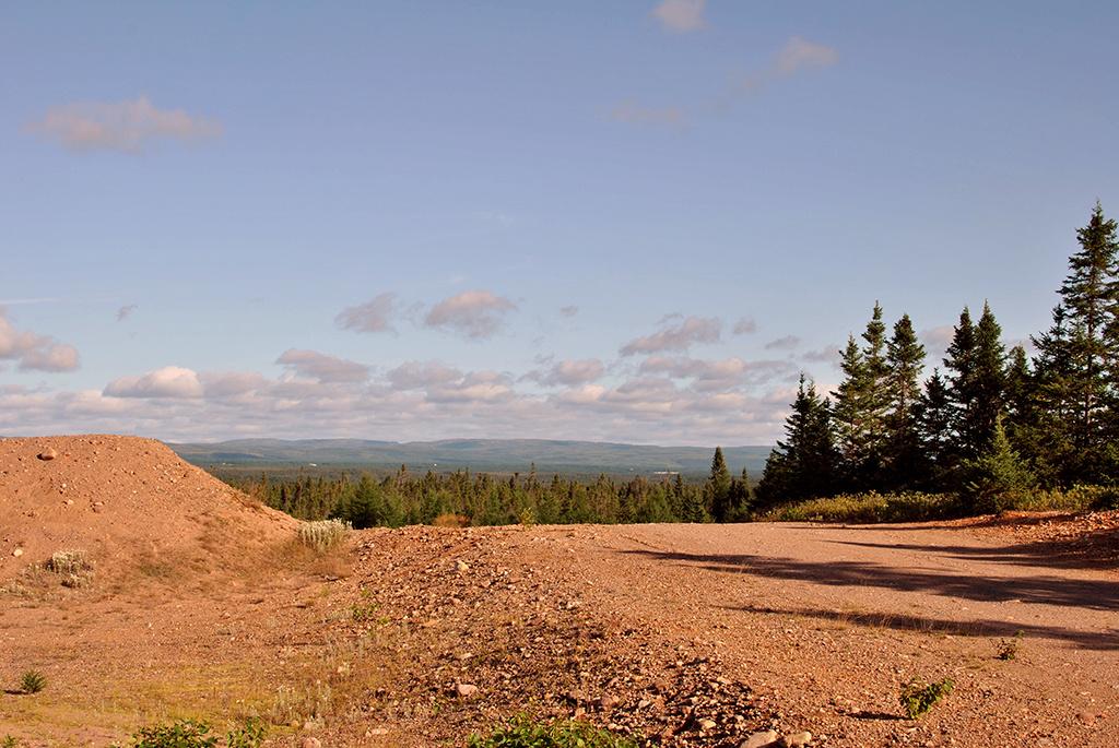 Generic-Van-Life-Deer-Lake-Quarry-Newfoundland-Path