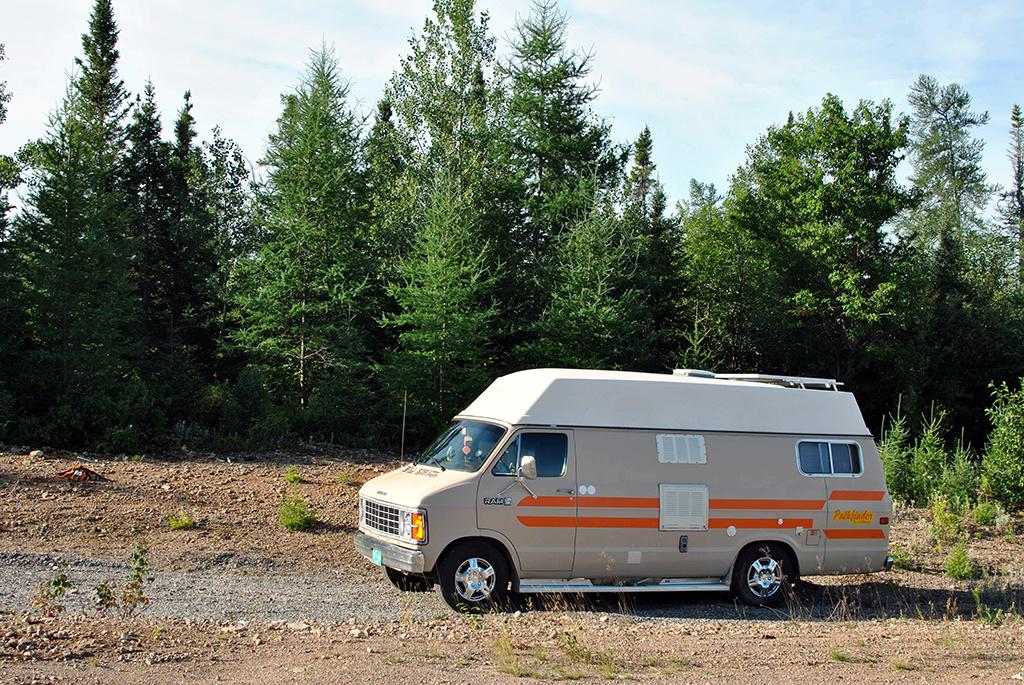 Generic-Van-Life-Deer-Lake-Quarry-Newfoundland-Van
