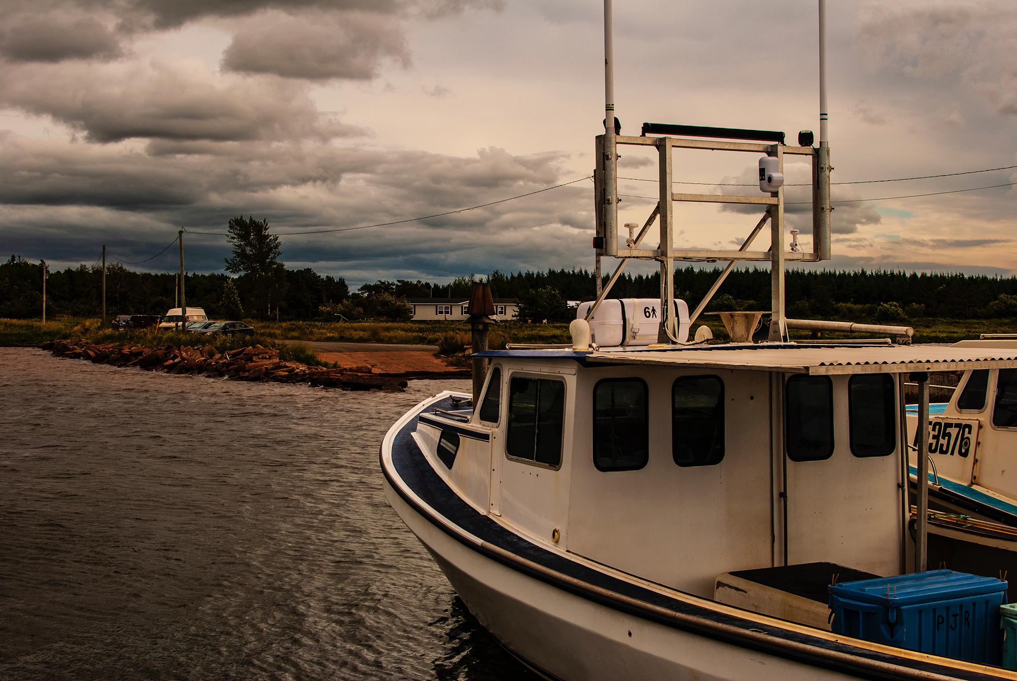 Generic Van Life - Lobster Land PEI Wharf