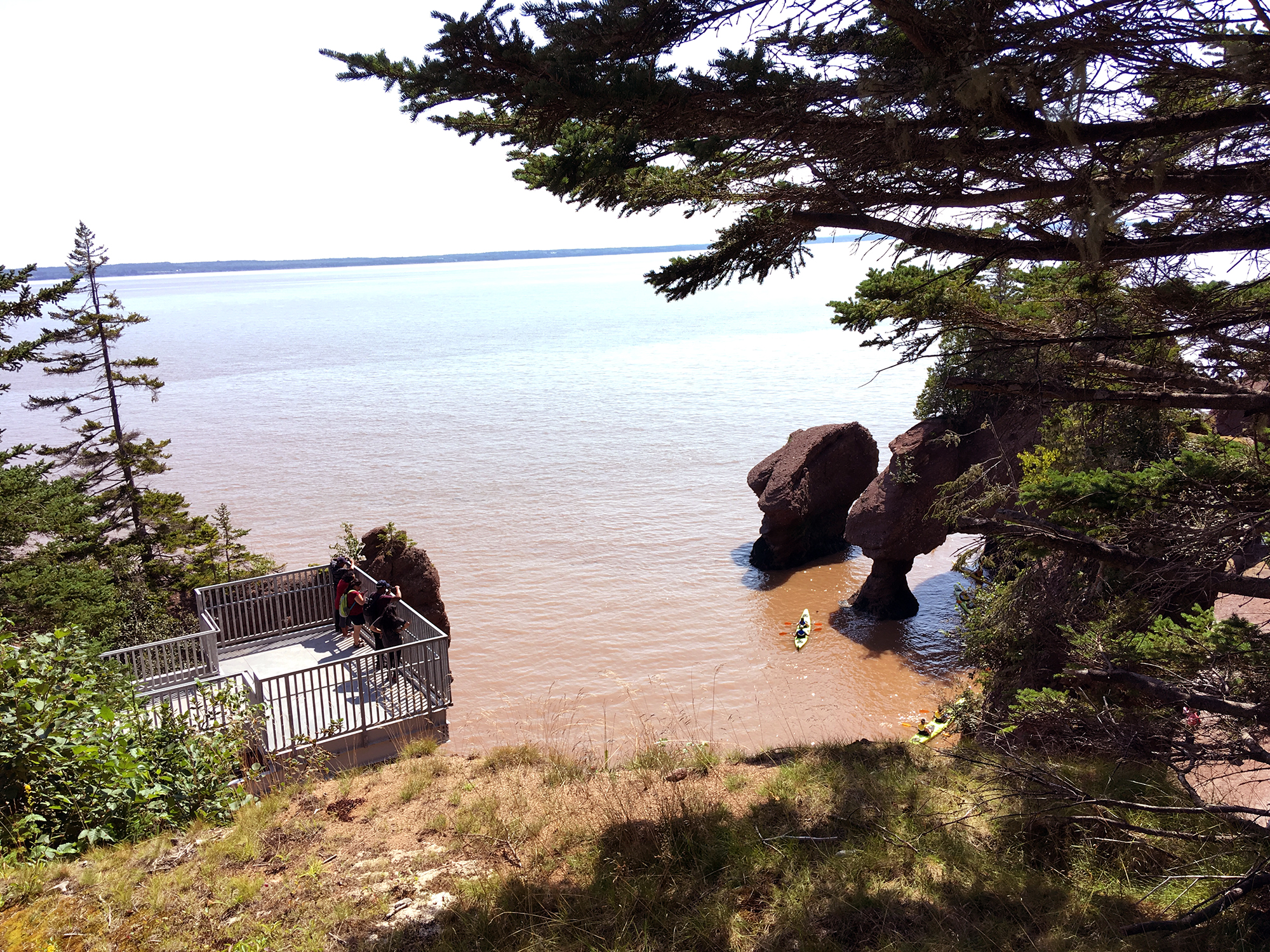Generic Van Life - New Brunswick Tides Hopewell Rocks High Tide
