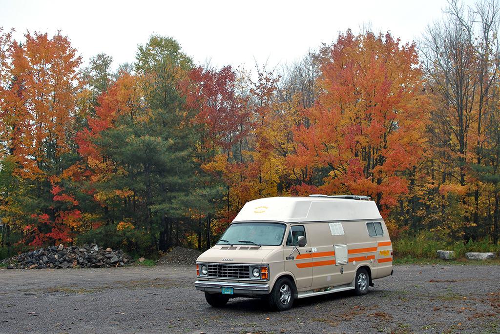 Generic-Van-Life-Camping-Spot-Ess-Narrows-Ontario-Van