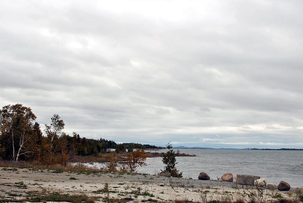 Generic-Van-Life-Camping-Spot-Goat-Island-Ontario-Shore