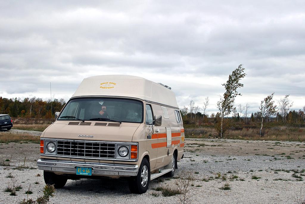 Generic-Van-Life-Camping-Spot-Goat-Island-Ontario-Spot
