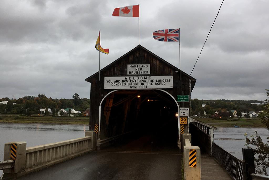 Generic-Van-Life-Camping-Spot-Hartland-Covered-Bridge-New-Brunswick-Bridge-Entrance