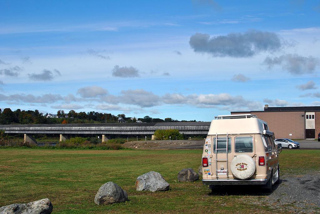 Generic-Van-Life-Camping-Spot-Hartland-Covered-Bridge-New-Brunswick-Rec-Centre