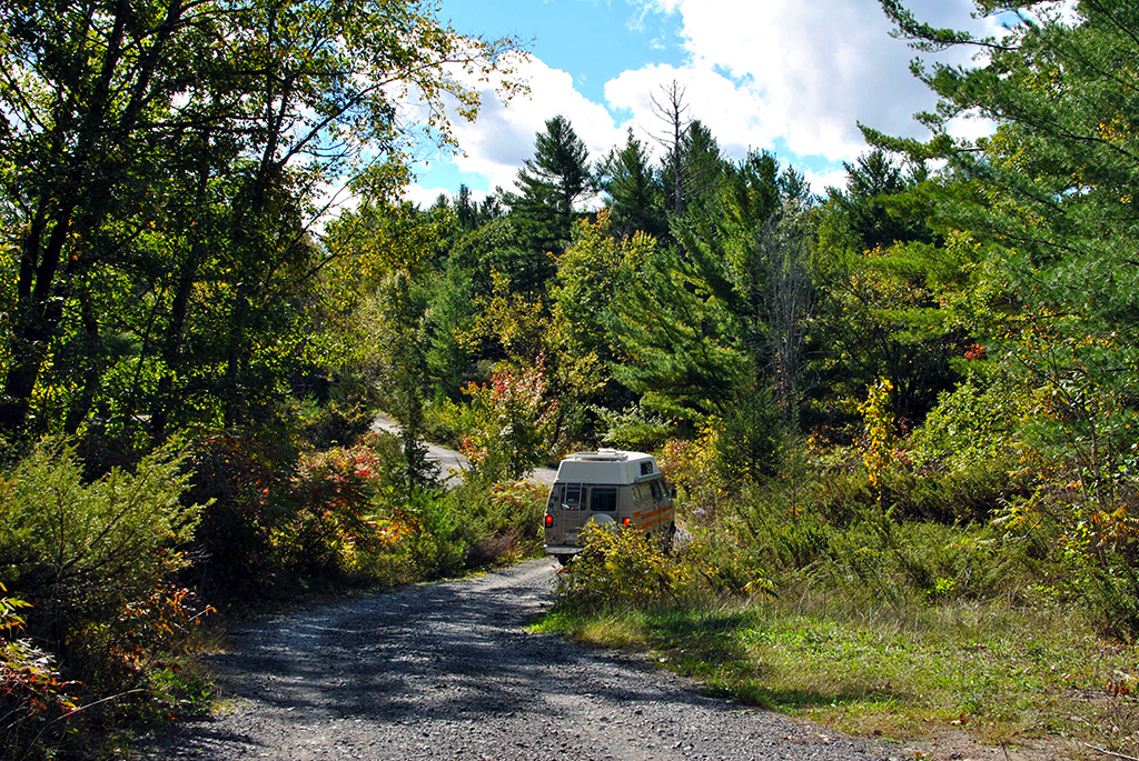 Generic-Van-Life-Camping-Spot-Lennox-Addington-Dark-Sky-Viewing-Area-Ontario-Dirt-Road