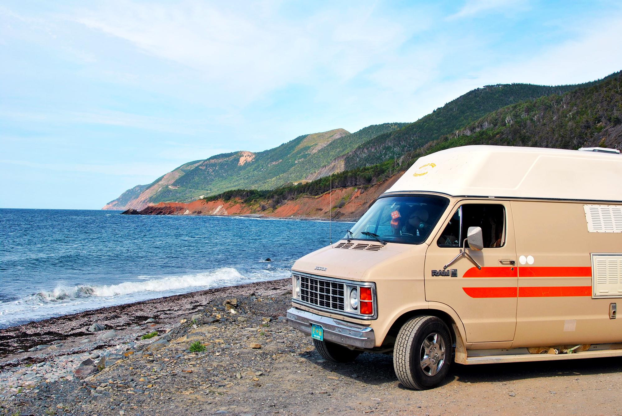 Generic Van Life Cape Breton La Bloc Beach