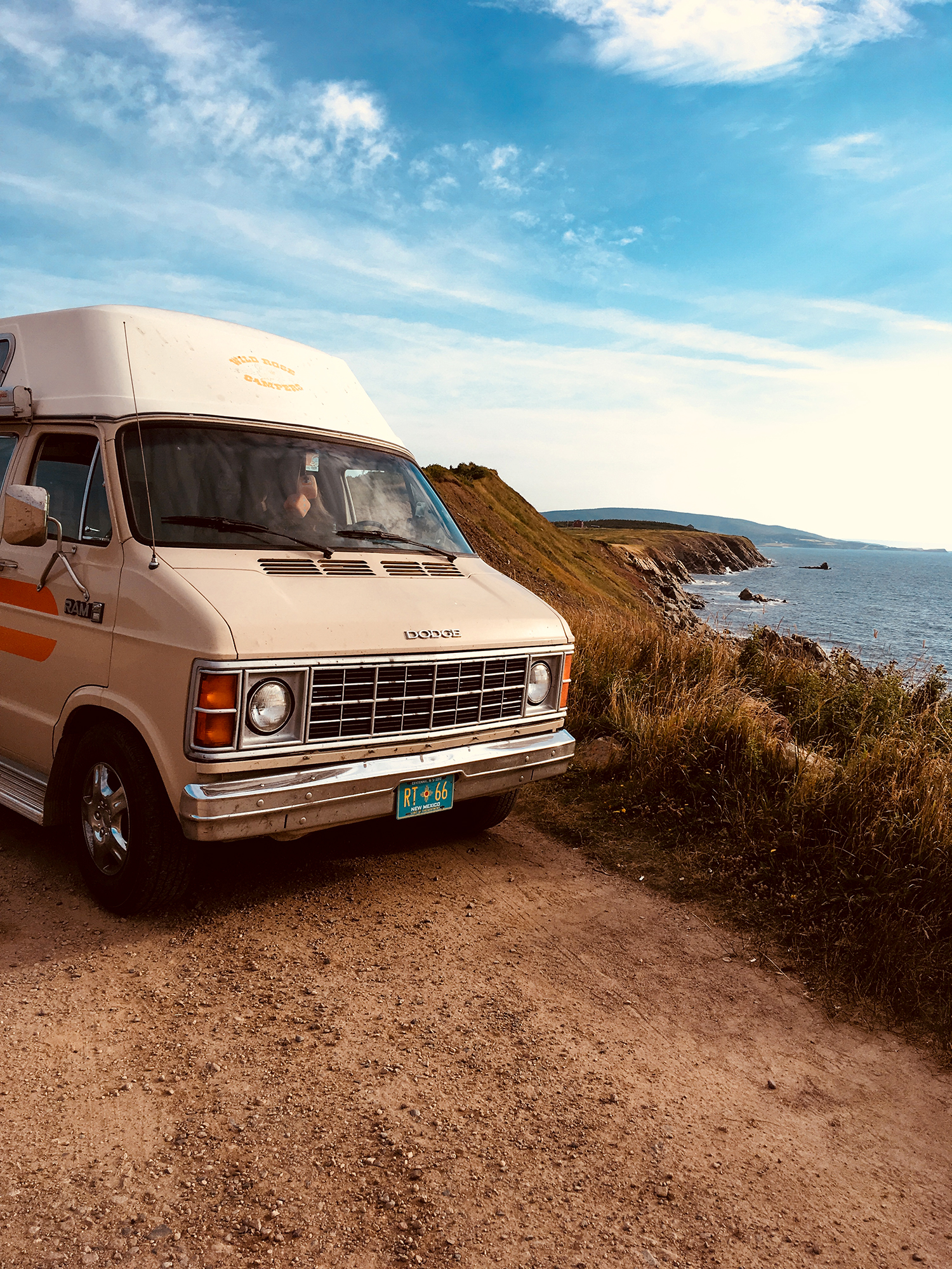 Generic Van Life - Cape Breton Lookout Point