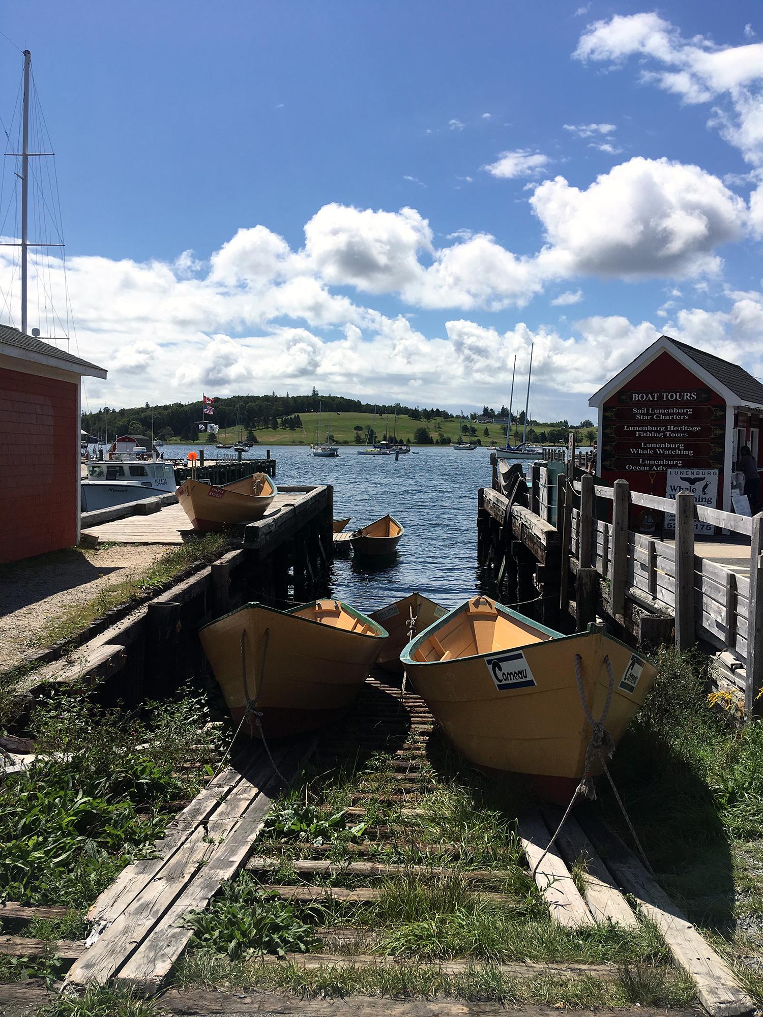 Generic Van Life - Mainland Nova Scotia Lunenburg Dory