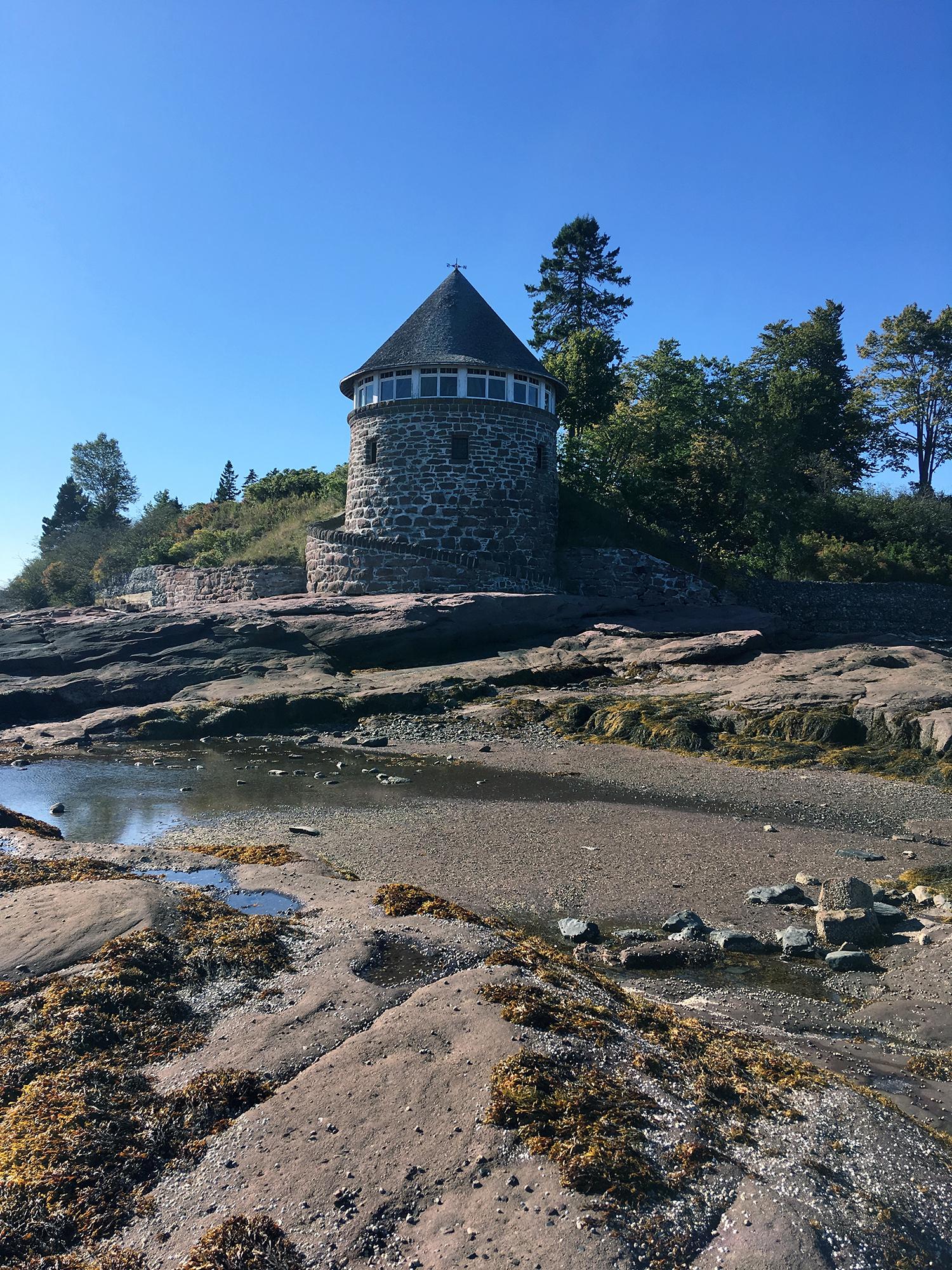 Generic Van Life New Brunswick Part II Ministers Island Bathhouse