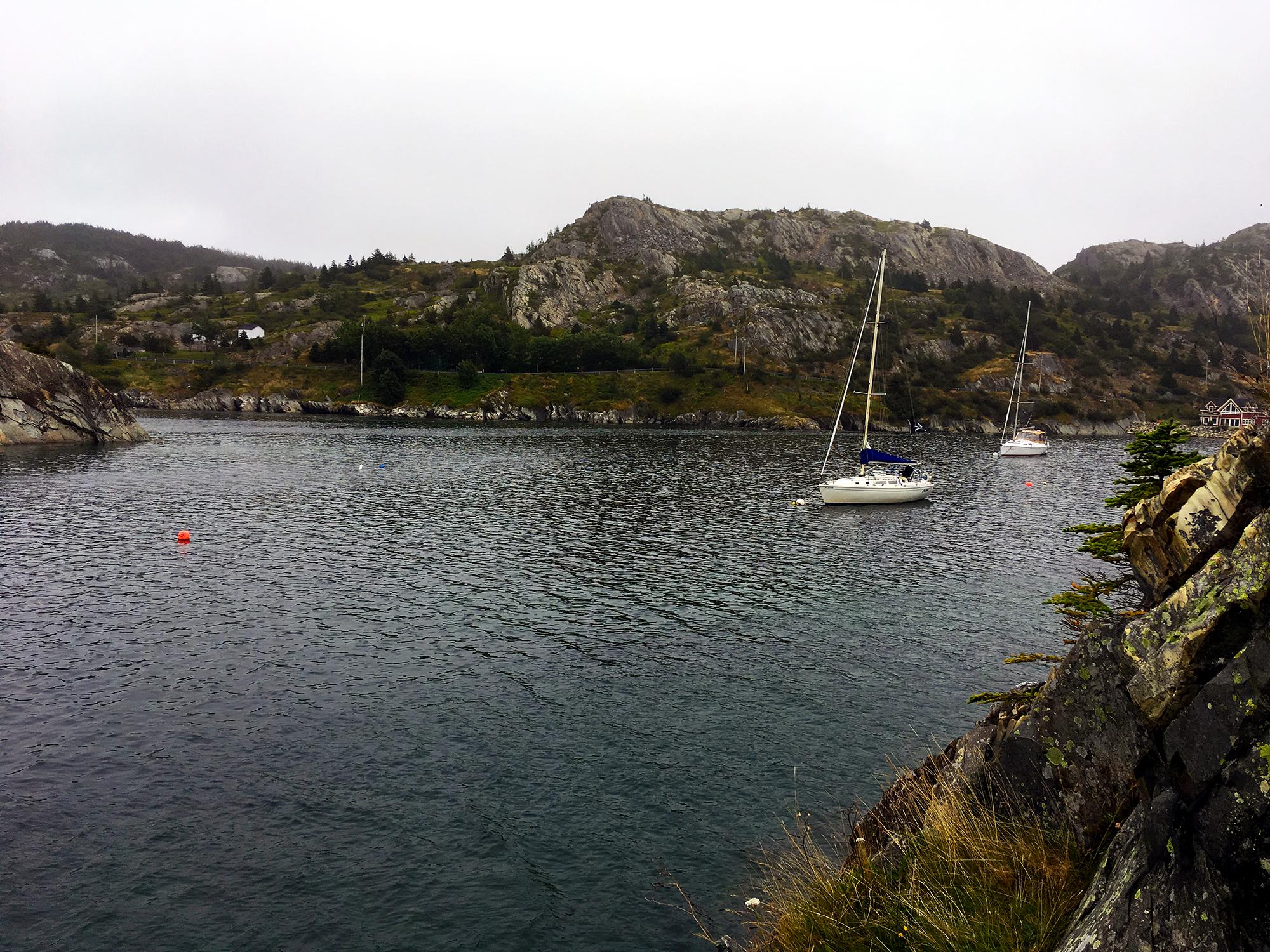 Generic Van Life Newfoundland Brigus Sailboat