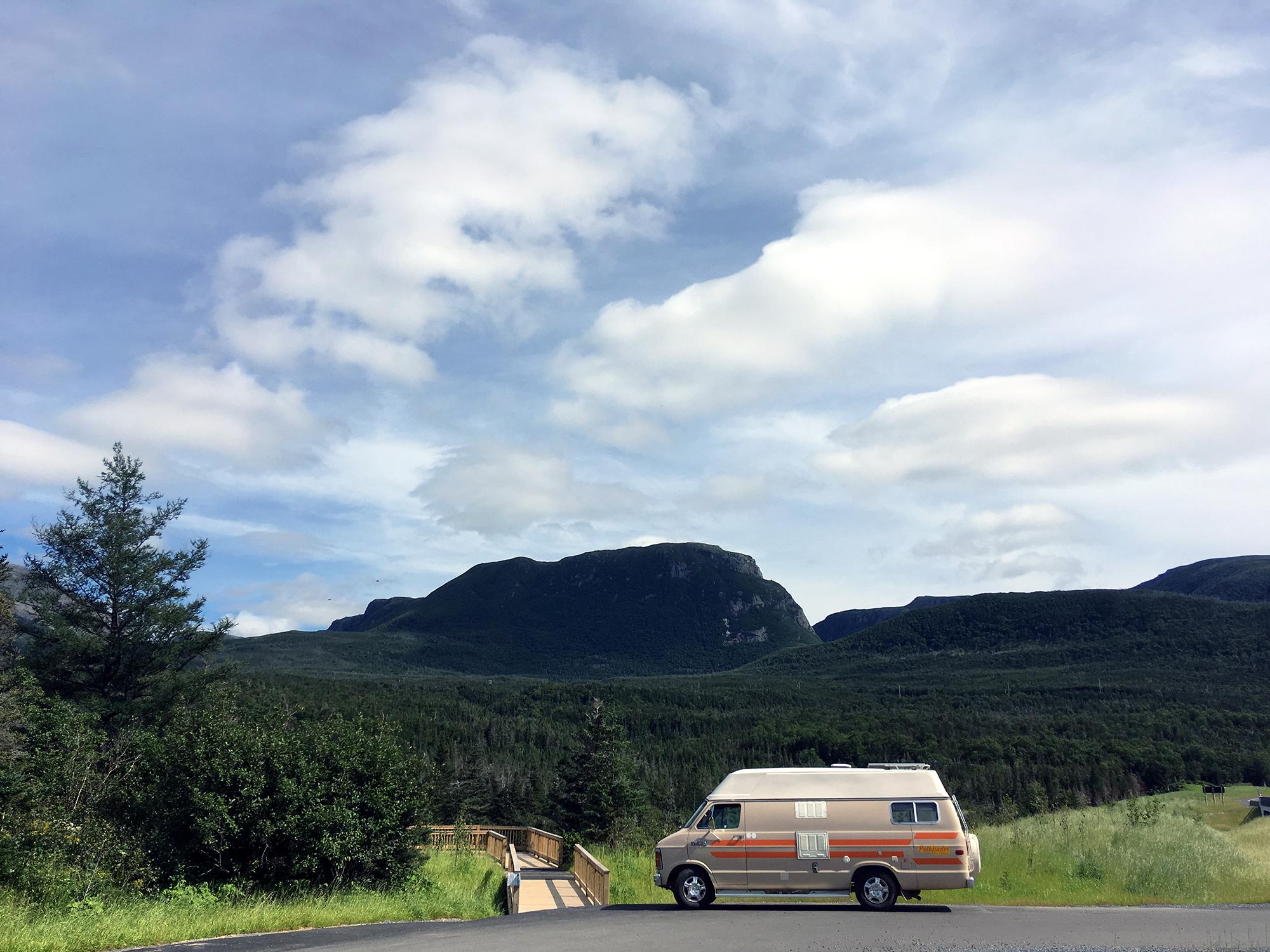 Generic Van Life - Newfoundland Gros Morne