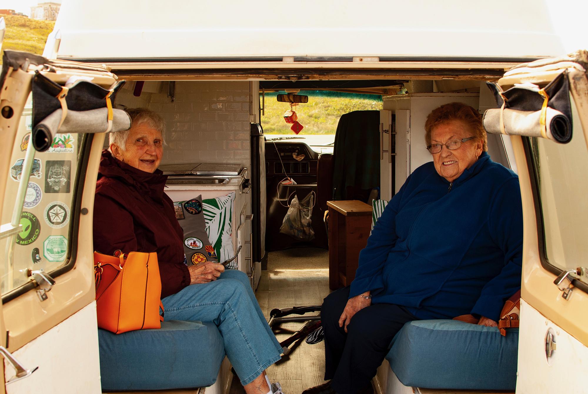 Generic Van Life - Newfoundland Nans in the Van