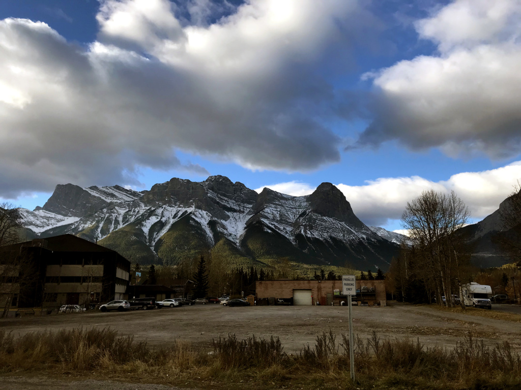 Generic-Van-Life-Camping-Spot-Downtown-Canmore-Parking-Alberta-Mountain