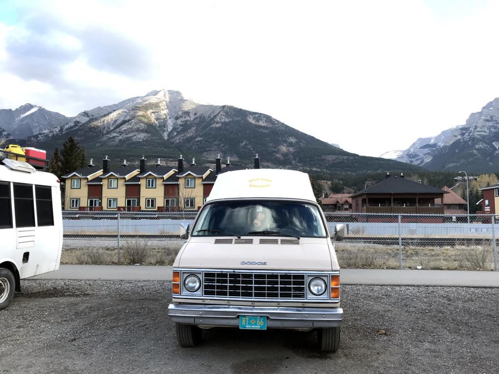 Generic-Van-Life-Camping-Spot-Downtown-Canmore-Parking-Alberta-Van