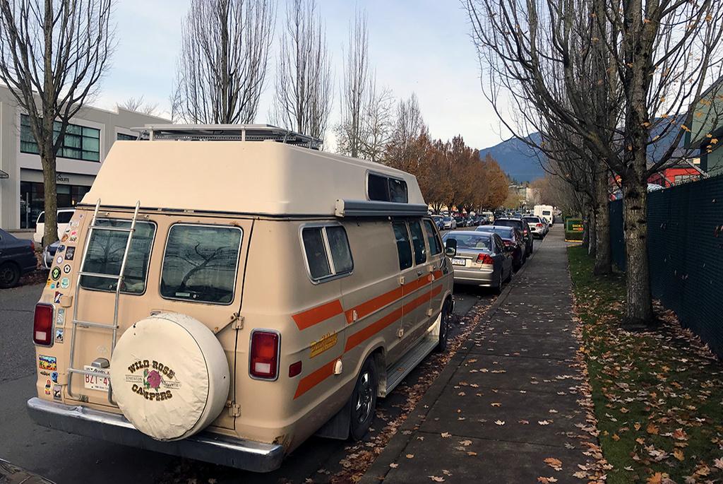 Generic-Van-Life-Camping-Spot-North-Van-Industrial-Park-British-Columbia-Street