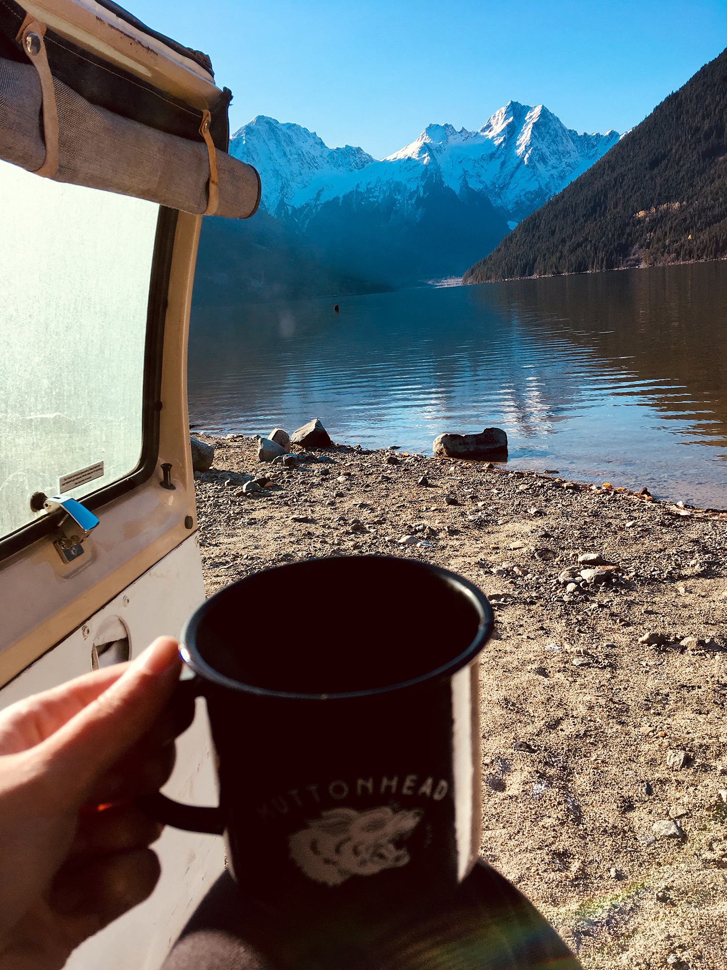 Generic Van Life - Chilliwack Jones Lake Coffee
