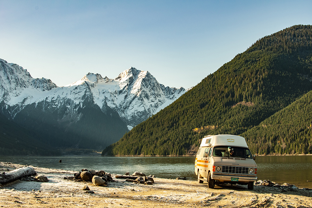 Generic-Van-Life-Jones-Lake-British-Columbia-Beach
