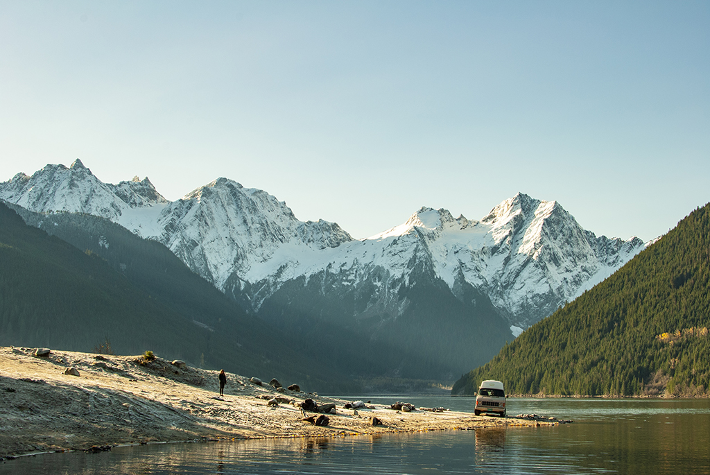 Generic Van Life - Chilliwack Jones Lake Mountains