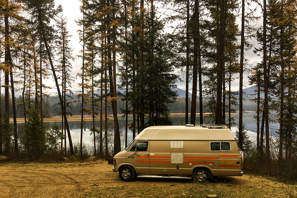 Generic-Van-Life-Suzanne-Lake-British-Columbia-Trees