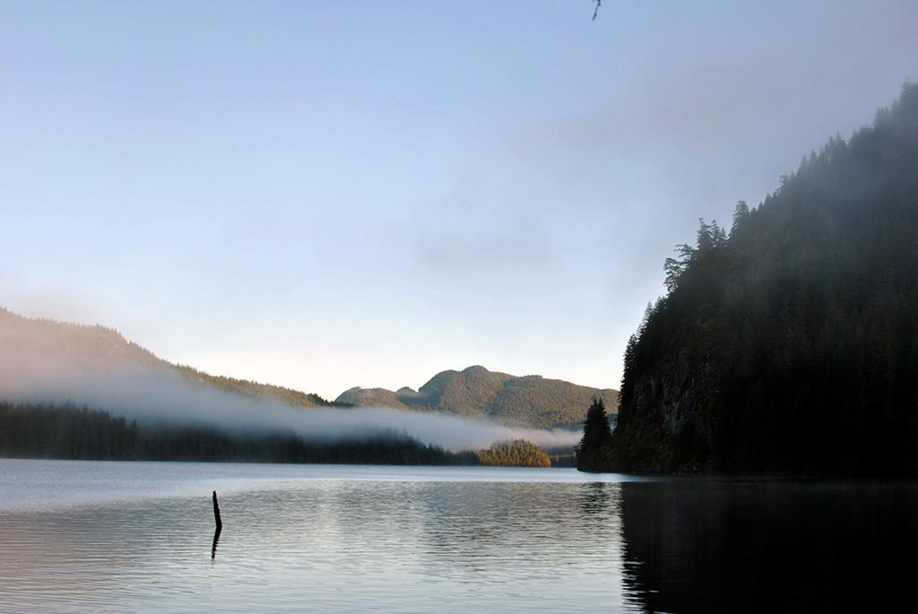 Generic-Van-Life-Camping-Spot-McCreight-Lake-British-Columbia-Lake